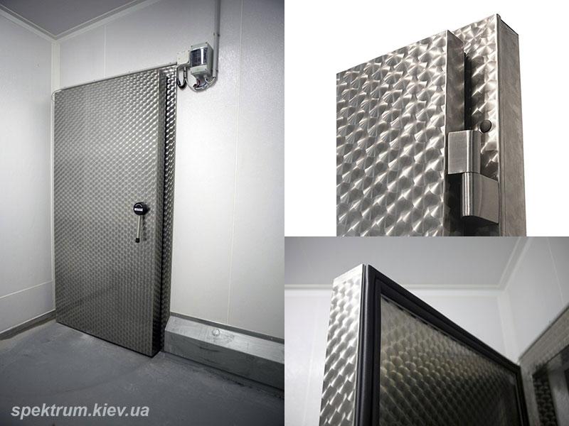 промышленные морозильные двери из нержавейки